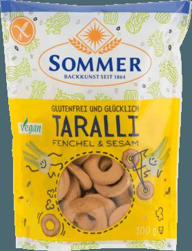 Bezlepkové slané krúžky Taralli