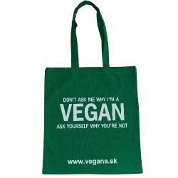 Taška Vegan zelená