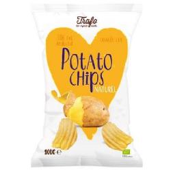Chipsy solené s nižším obsahom tuku