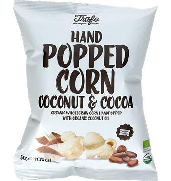 Popcorn s kakaom