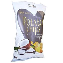 Chipsy pečené v kokosovom oleji 100 g