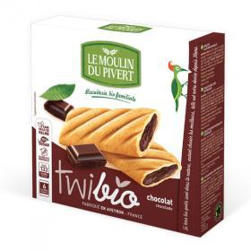 Twibio sušienky s čokoládovou náplňou