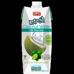 Kokosová voda s limetkou