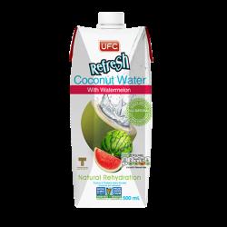 Kokosová voda s melónom