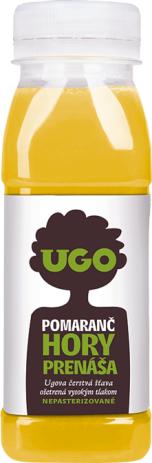 UGO Pomarančová šťava 250 ml RAW