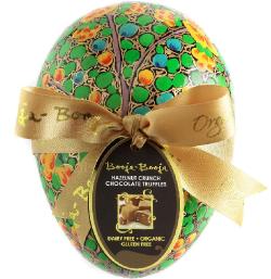 Vajíčko s truffles - lieskové oriešky