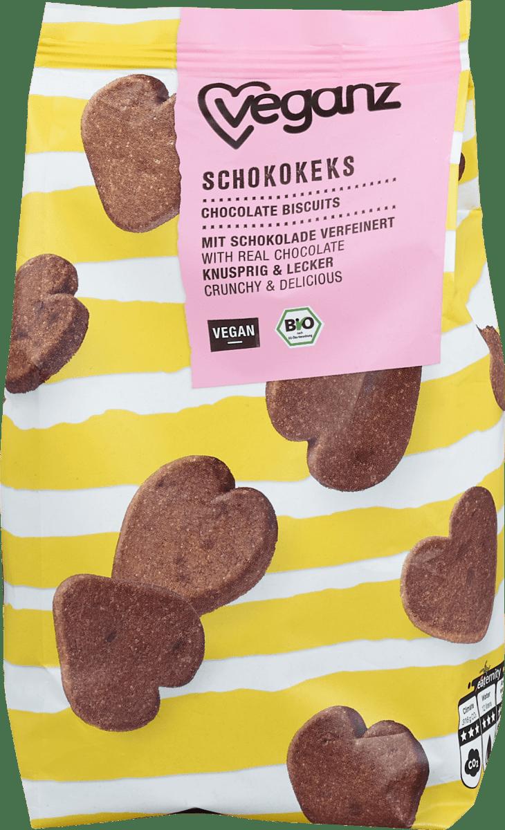 Čokoládové biskvity Veganz