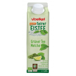 Zelený ľadový čaj Matcha