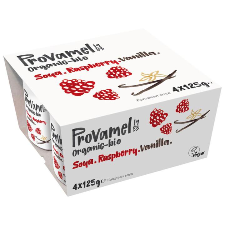 Jogurt malinový s vanilkou