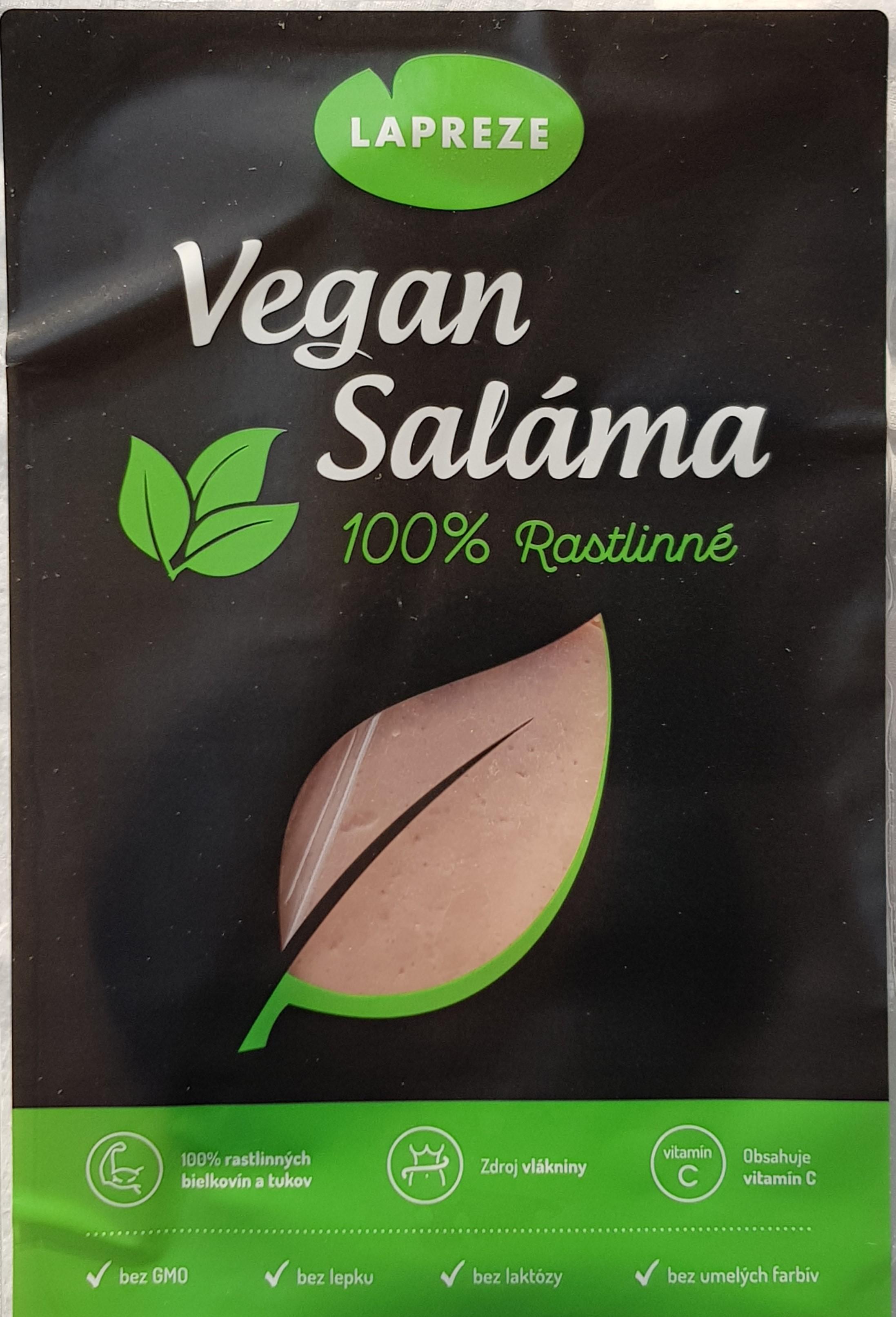 Vegan salámové plátky