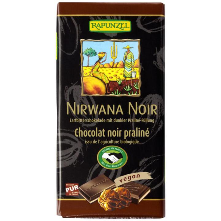 Nirwana tmavá čokoláda plnená