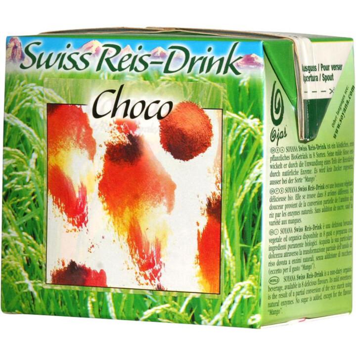 Ryžovo-čokoládový nápoj