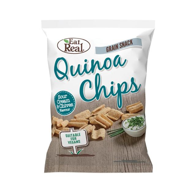 Quinoa chipsy smotana, pažítka 30 g