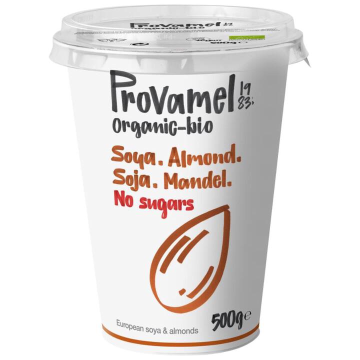 Jogurt sójovo-mandľový