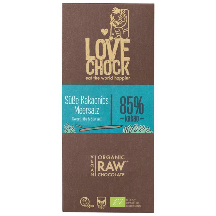 Čokoláda kakaové kúsky, morská soľ