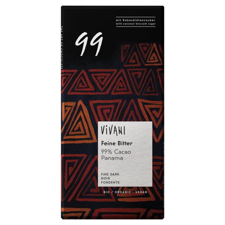 Horká čokoláda 99% Vivani