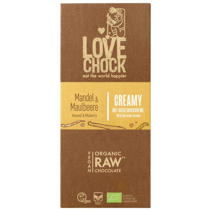 Čokoláda RAW mandle moruše