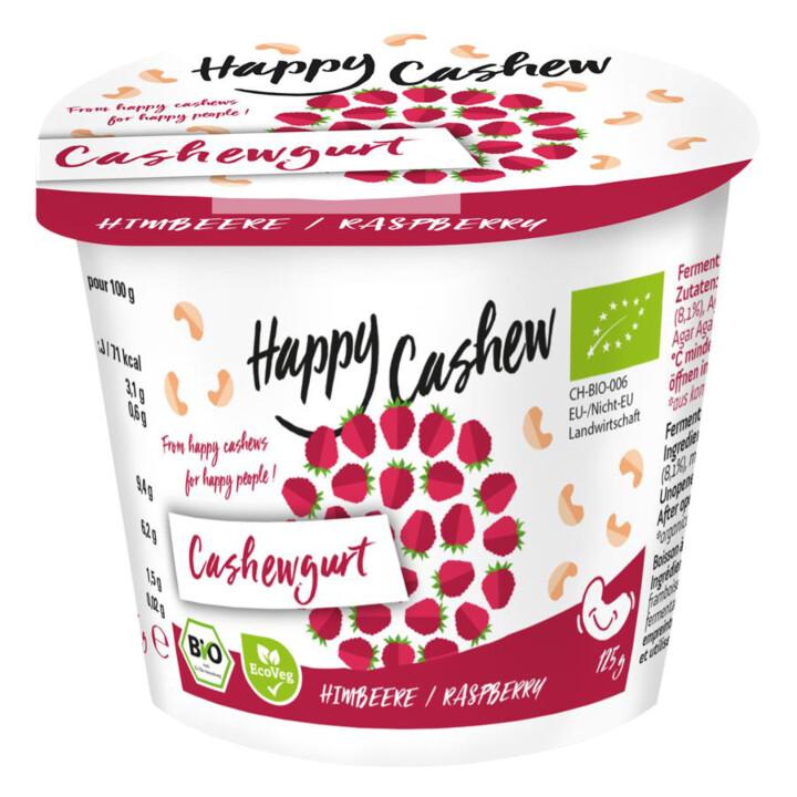 Kešu jogurt maliny