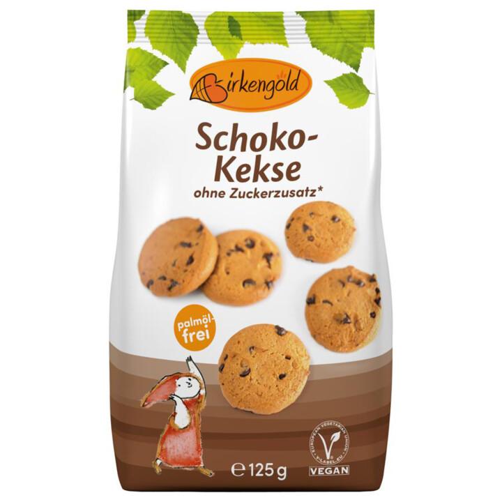 Čokoládové keksíky bez cukru