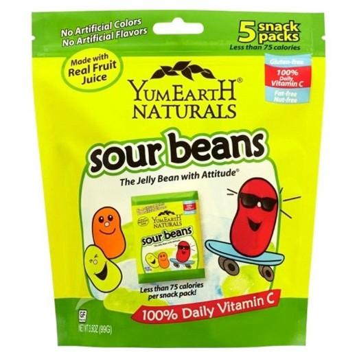 Sladko-kyslé gumové fazuľky