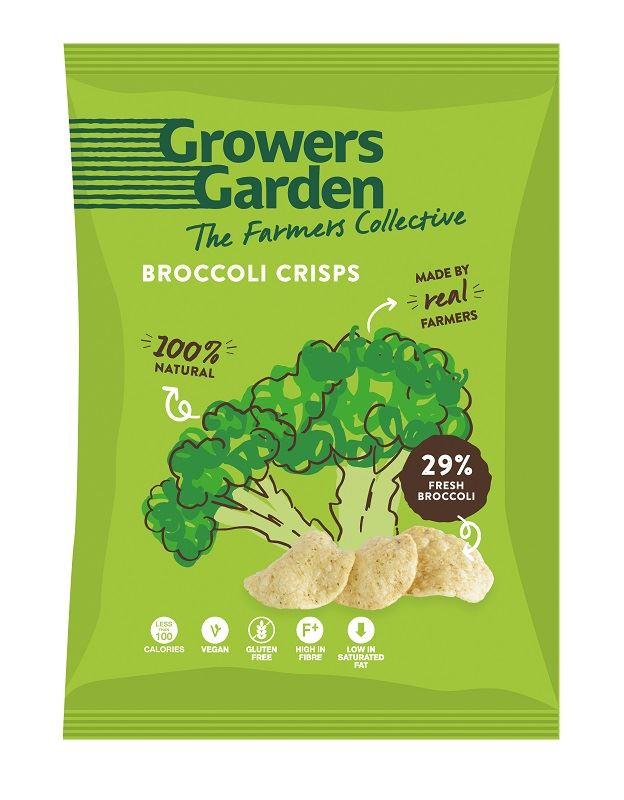 Brokolicové chipsy