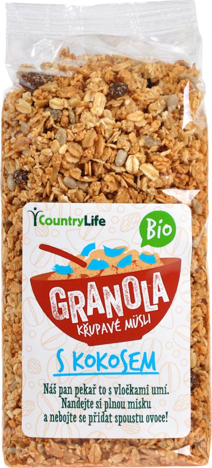 Granola s kokosom