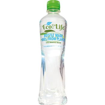 Nesýtená voda v eko fľaške