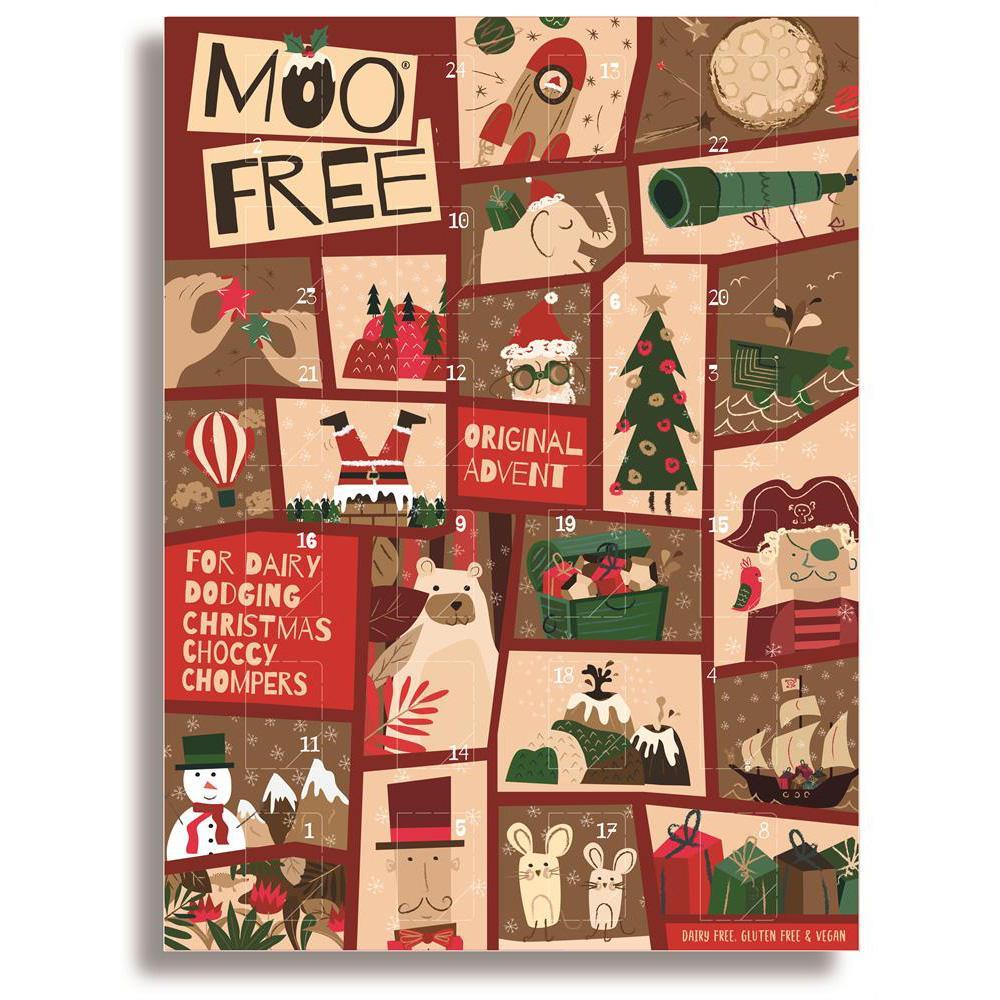 Adventný kalendár Moo free