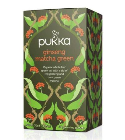 Čaj ženšen matcha green
