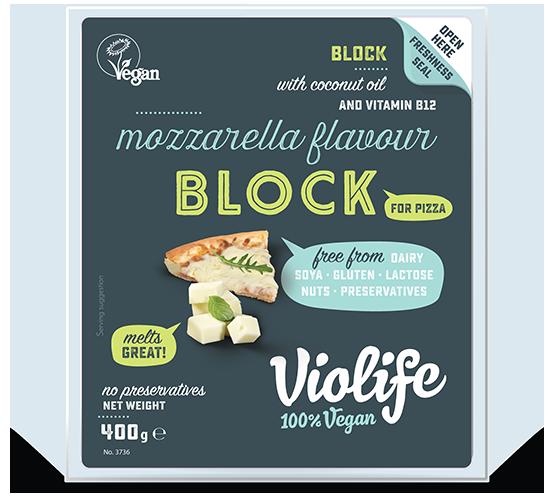 Violife - mozzarella na pizzu 400 g