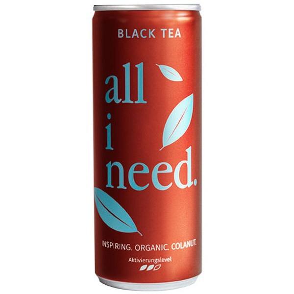 All I Need čierny čaj cola