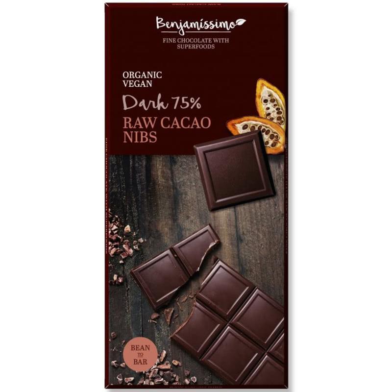 Čokoláda s RAW kakaovými kúskami
