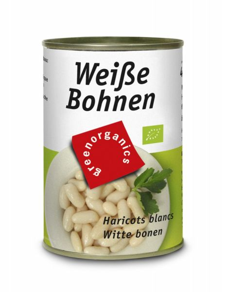 Biela fazuľa v konzerve
