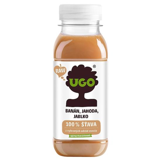 UGO - Banán, jahoda, jablko 250 ml