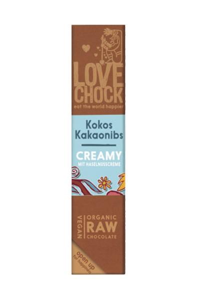 LoveChock - kokos, kakaové kúsky RAW