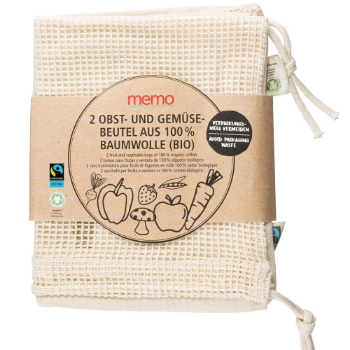 Nákupné tašky z bavlny 2 ks