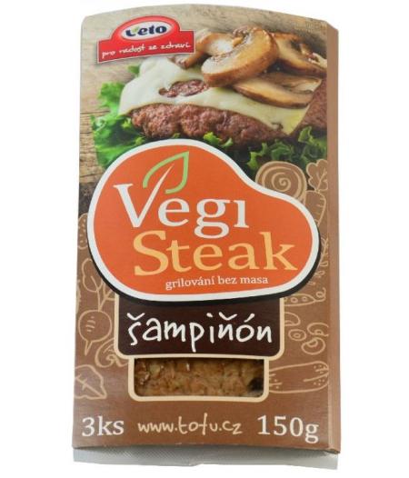 Šampiňónový steak