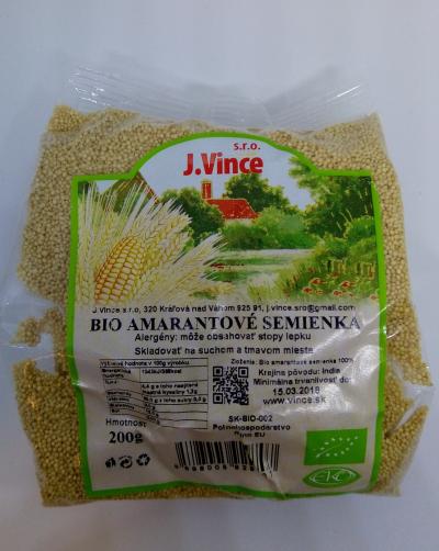 Amarantové semienka