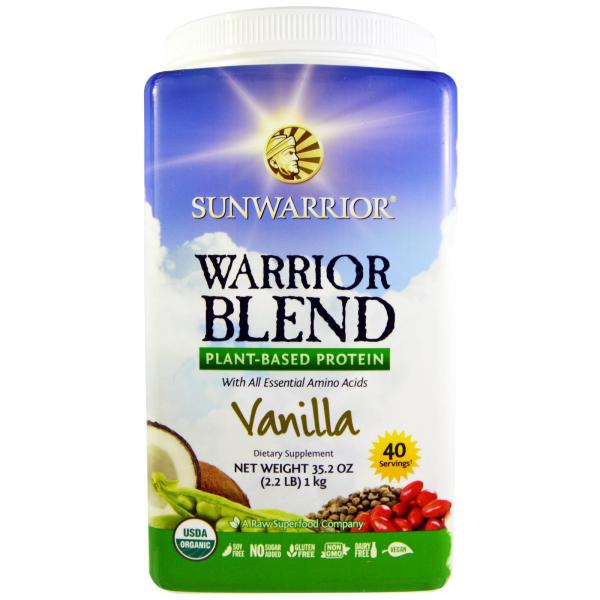Vanilkový proteín blend