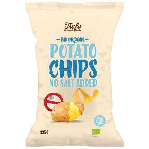 Chipsy nesolené