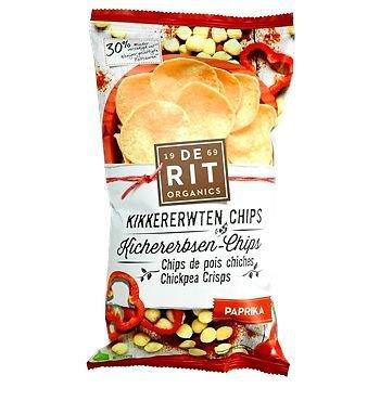 Cícerové chipsy - paprikové
