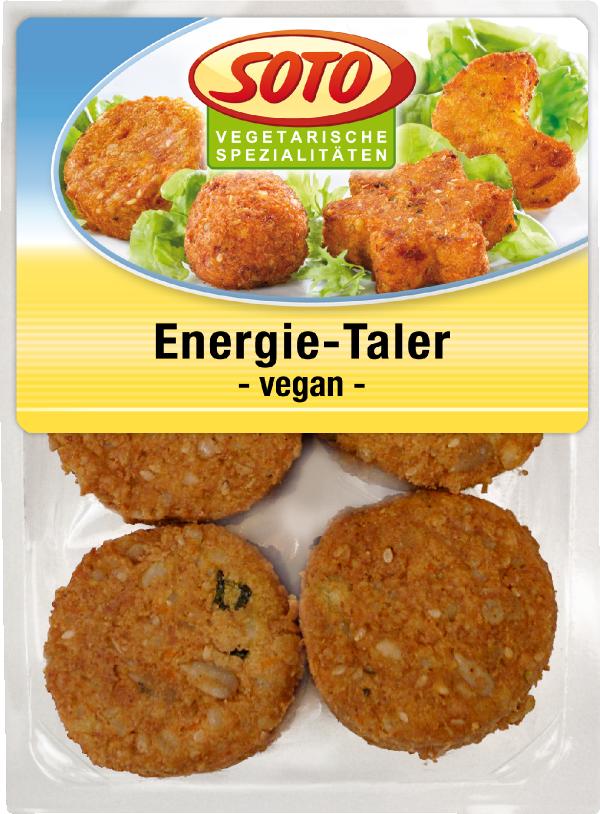 Zeleninové burgery Energie Taler