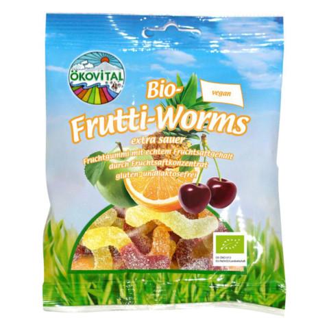 Kyslé frutti-worms