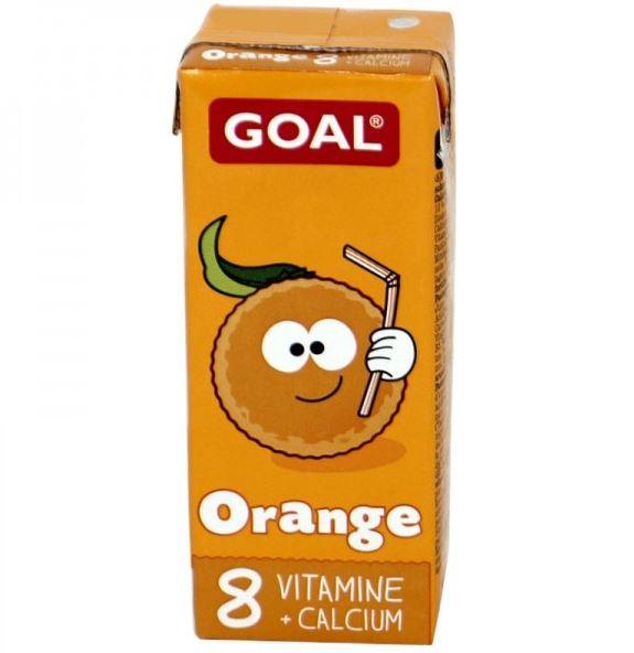 Pomarančový detský nápoj