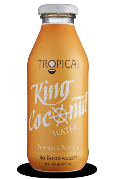 Kokosová voda ananás Tropicai