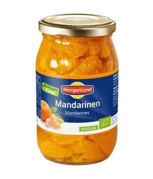 Mandarínky zavárané