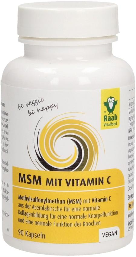 MSM klbová výživa Raab Vital
