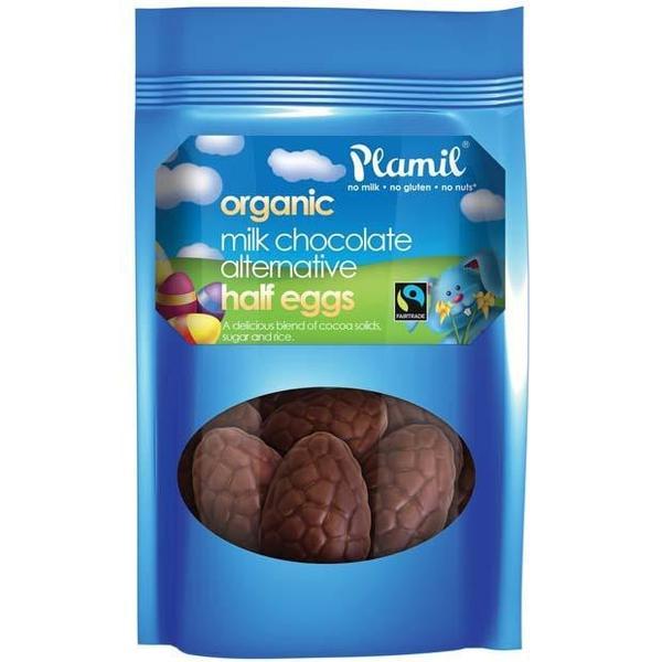 Čokoládové pol-vajíčka