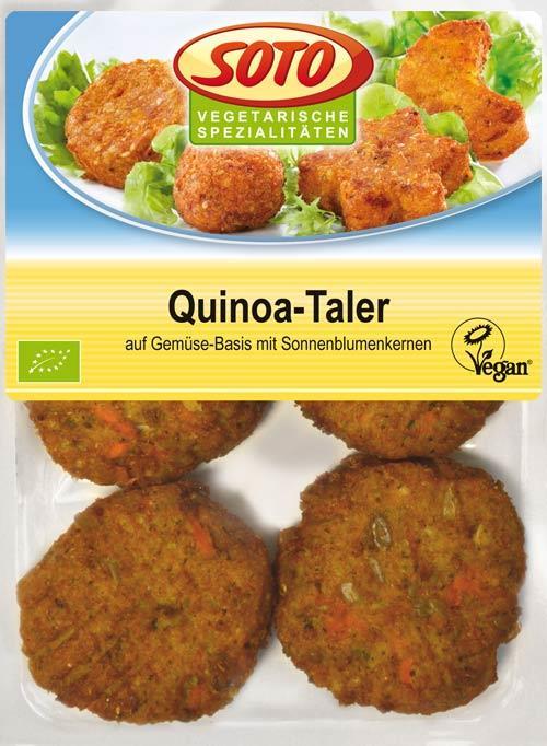 Zeleninové burgery Quinoa Taler