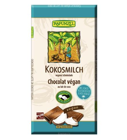 Kokosová čokoláda